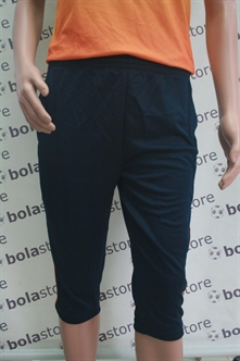 Picture of 3/4 Tight Pants Black (Orange Stripes) Kappa
