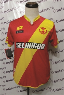 Picture of Selangor Home Jersey 2016 Original Lotto